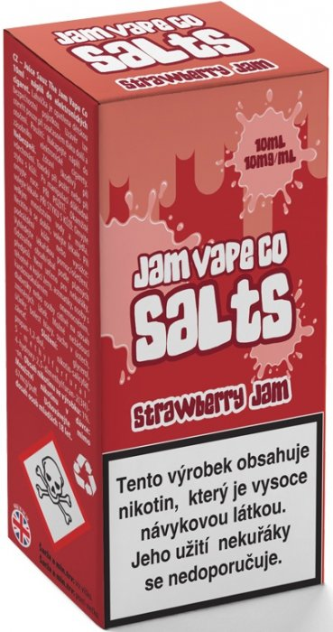Liquid Juice Sauz SALT The Jam Vape Co Strawberry Jam 10ml Síla nikotinu: 10mg