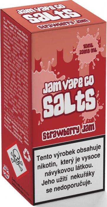 Liquid Juice Sauz SALT The Jam Vape Co Strawberry Jam 10ml Síla nikotinu: 20mg