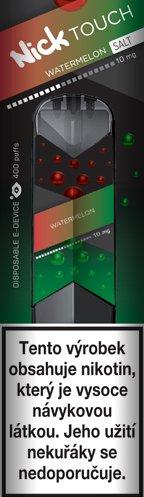 Nick Touch Salt elektronická cigareta Watermelon 10mg
