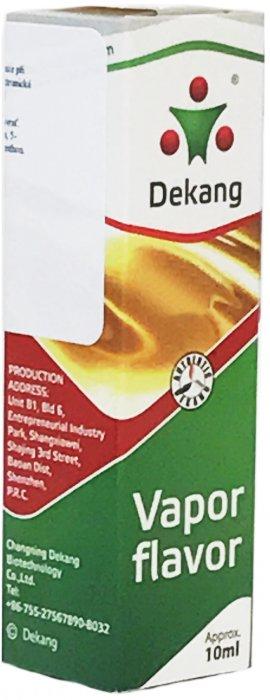 Liquid Dekang SILVER Tobacco 10ml (tabák) Síla nikotinu: 0mg
