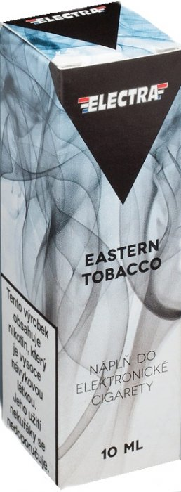 Liquid ELECTRA Eastern Tobacco 10ml Síla nikotinu: 0mg
