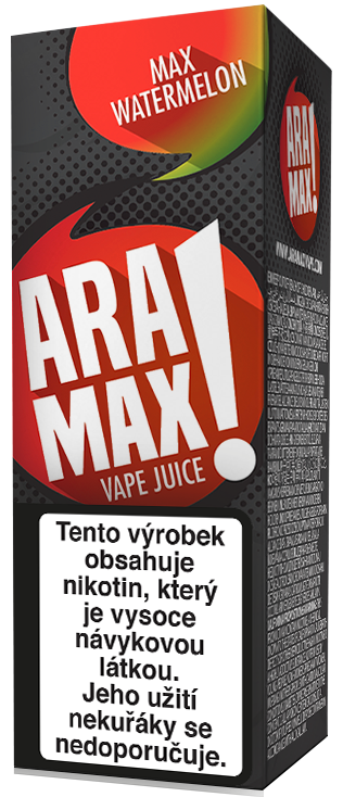 Aramax Max Watermelon 10ml Síla nikotinu: 0mg