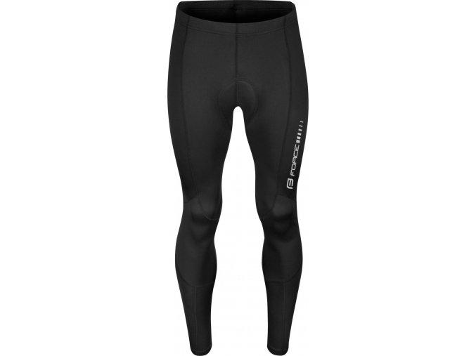 kalhoty FORCE Z68 do pasu s vložkou, černé
