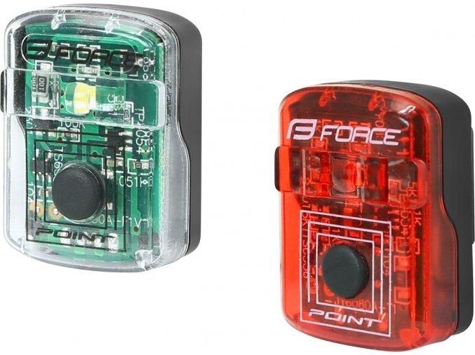 Sada blikaček FORCE POINT USB přední+zadní