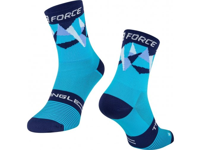 ponožky F TRIANGLE, modré