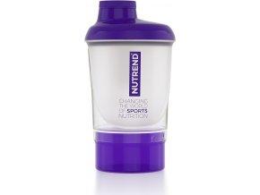 ŠEJKR NUTREND 2019- fialovoprůhledný- 300 ml + zásobník