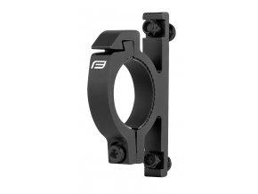 držák košíku na řídítka Ø 31.8 mm, Al, černý