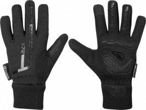 rukavice zimní FORCE KID X72, black