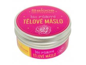 bio růžové tělové máslo