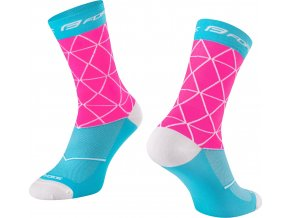 ponožky FORCE EVOKE, růžovo-modré