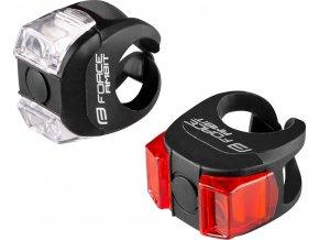 blikačky sada F AMBIT bateriové,  přední + zadní