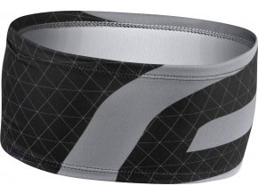 čelenka FORCE FIT sport zúžená, černo-šedá UNI