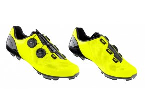 tretry FORCE MTB WARRIOR CARBON, fluo