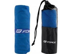 ručník FORCE cestovní 60 x 120 cm, modrý