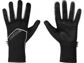 rukavice F GALE softshell, jaro-podzim, černé