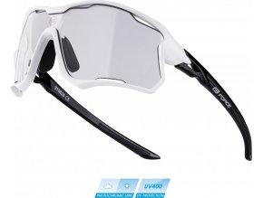 brýle FORCE EDIE, bílo-černé, fotochromatické skla