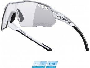 brýle FORCE AMOLEDO,bílo-šedé,fotochromatické skla
