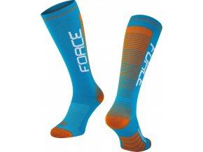 ponožky F COMPRESS, modro-oranžové