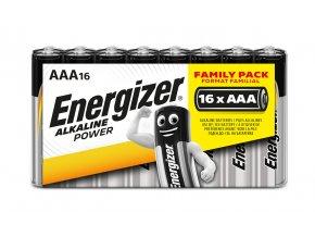 EC003 Energizer Alkaline Power AAA 16pack shrink