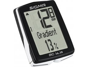 počítač SIGMA BC 14.16, 14 funkcí drát černý