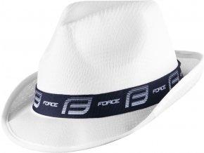 klobouk FORCE PANAMA, bílo-modrý