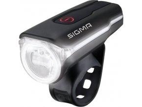 světlo přední SIGMA AURA 60 USB, černé