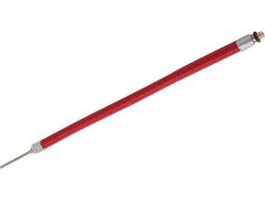 hadička hustilky s jehlou, délka celkem 15cm