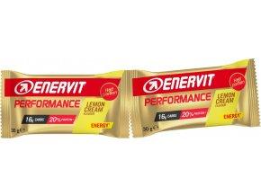 ENERVIT Performance Bar, tyčinka 2x30g, citron
