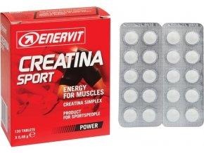 ENERVIT CREATINA SPORT box obsahuje 120 tablet