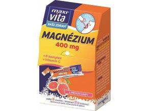 VITAR-Maxivita Magnézium 400 mg,16 sypkých sáčků