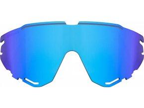 sklo náhradní FORCE CREED, modré