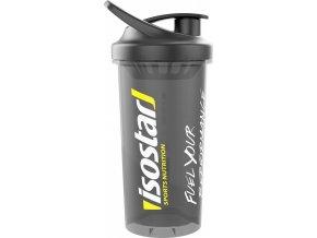 láhev-šejkr ISOSTAR 0,7 l, polotransparentní,černý