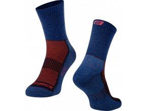ponožky FORCE POLAR, modré