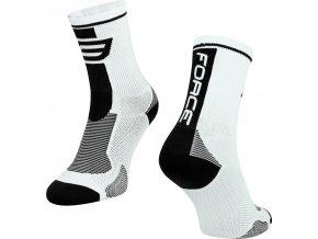 ponožky F LONG, bílo-černé
