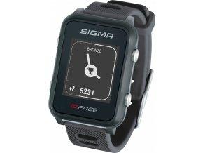hodinky sportovní SIGMA iD.FREE, šedé