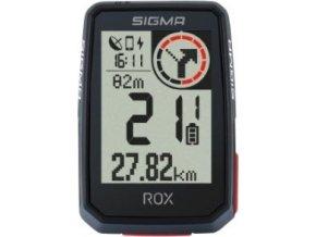 počítač SIGMA ROX 2.0, GPS, 14 funkcí, černý