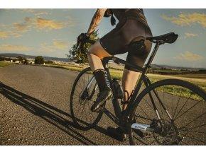 ponožky FORCE ELEGANT vysoké,černo-zlaté