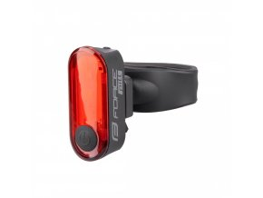 blikačka zadní FORCE PILL 12 LM, 3 x LED, USB