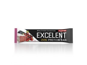 excelent protein bar cerny rybiz brusinky 85g