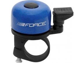 zvonek F MINI Fe/plast 22,2mm paličkový, modrý