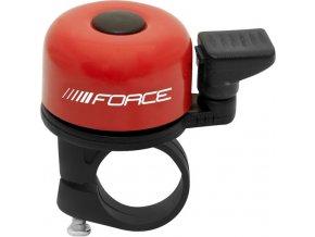 Zvonek FORCE MINI Fe/plast 22,2mm paličkový, červený
