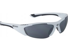 brýle FORCE LADY bílé, černá laser skla