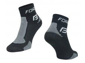 ponožky FORCE 1, černo-šedé