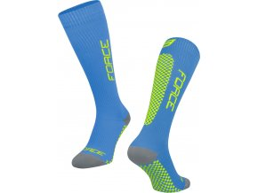 ponožky FORCE TESSERA KOMPRESNÍ, modrá