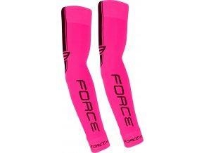 návleky na ruce FORCE pletené, růžové