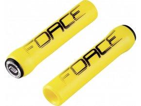 madla FORCE SLICK silikonová, žlutá, balená