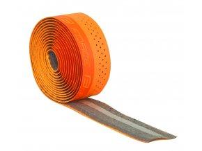 omotávka FORCE PU s vytláčeným logem, oranžová