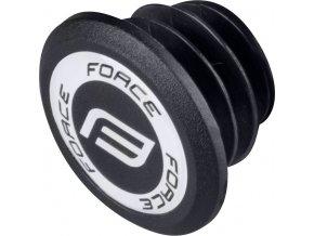 koncovka-zátka do řidítek s PVC logem FORCE