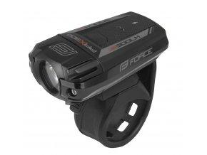 světlo přední FORCE PAX 300LM USB, černé