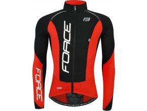 bunda/dres F dlouhý rukáv X68 PRO,černo-červená